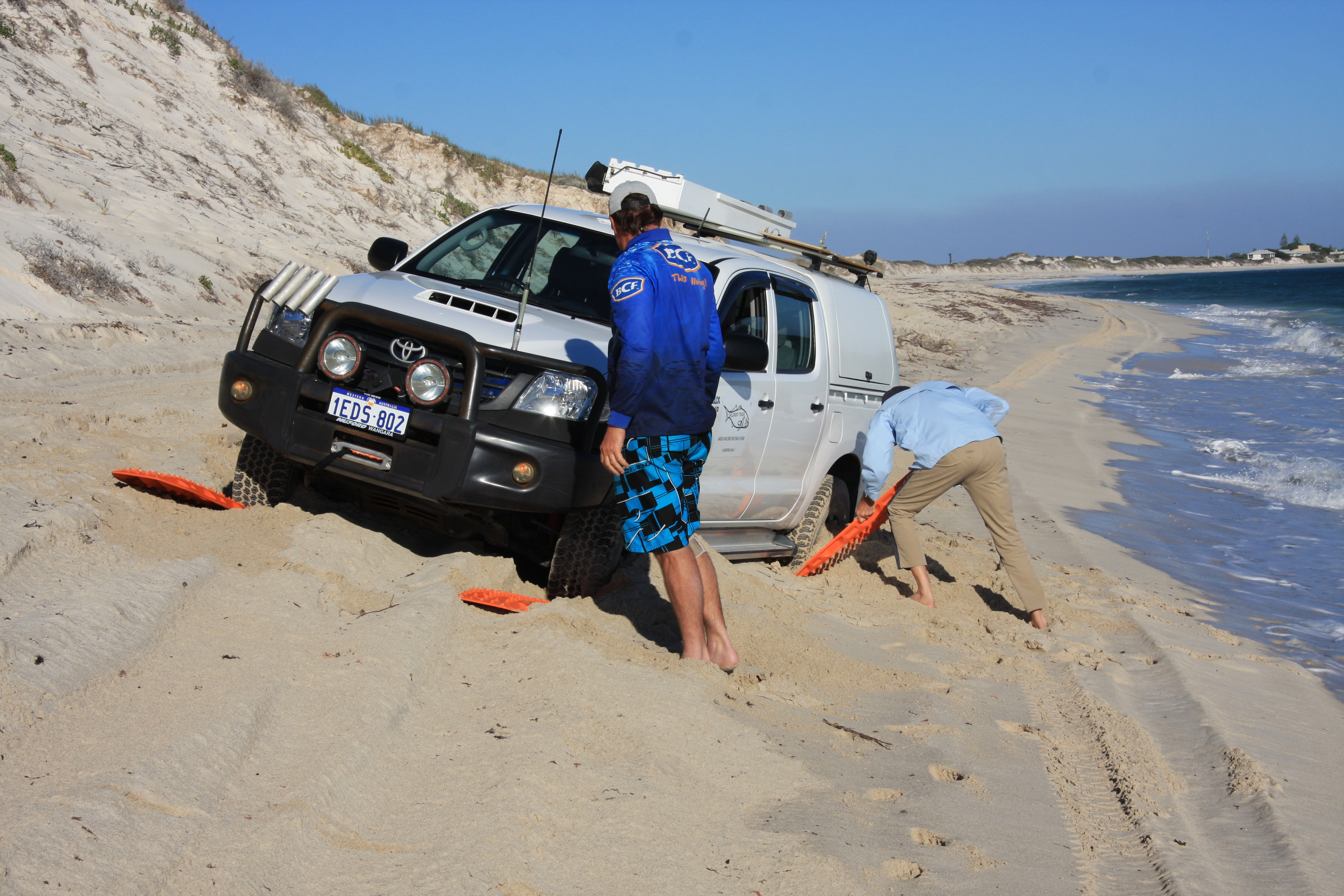 Beach 4WD tuition